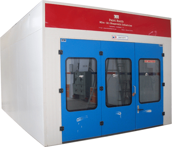 Spray Painting Booth Manufacturers