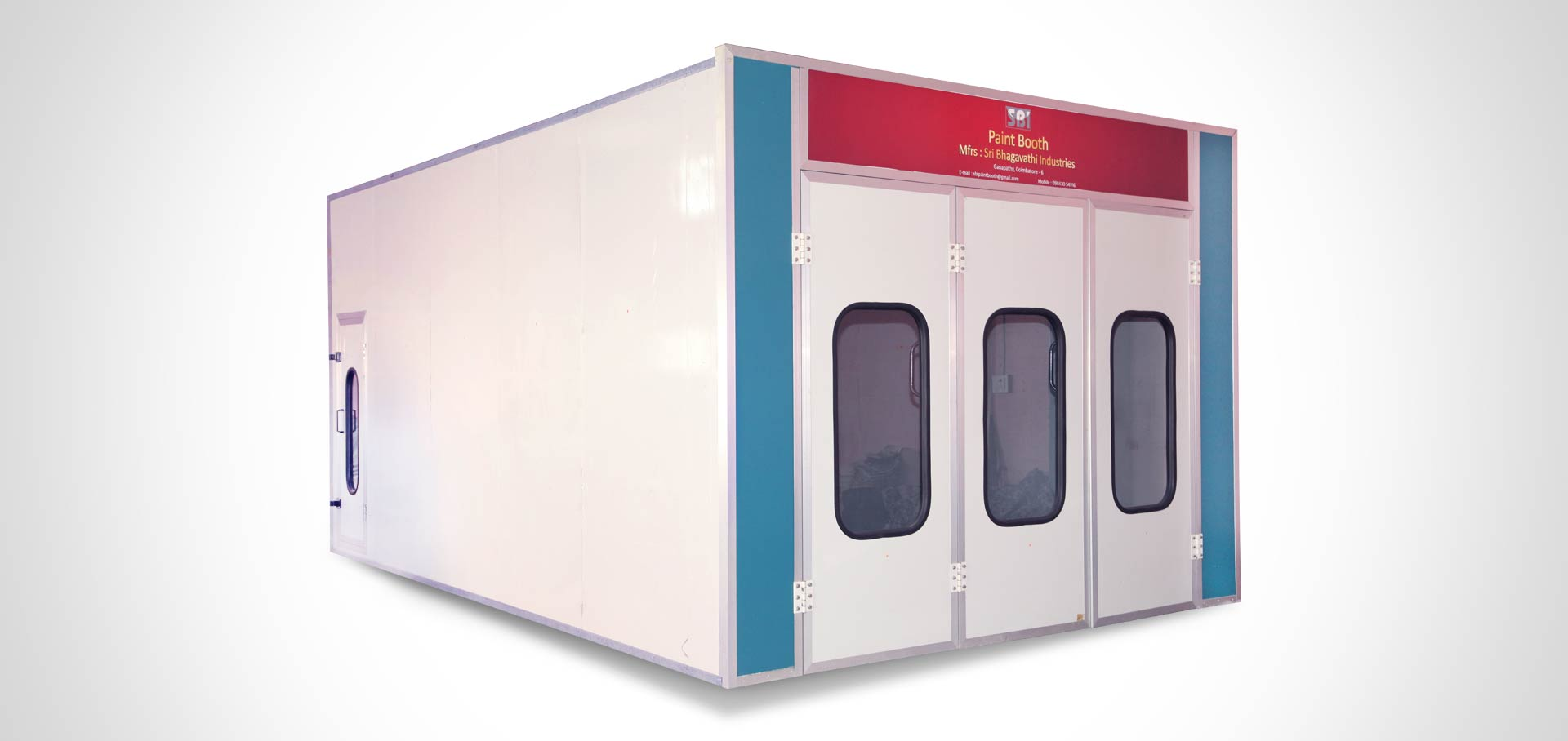 Automobile Paint Booth Manufacturers in India