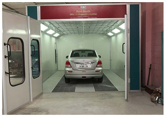Car Spray Booth Manufacturers