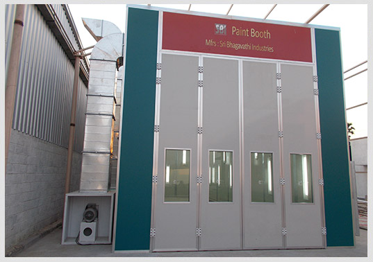 Truck Spray Booth Manufacturers